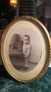 Koloriertes Kinderfoto