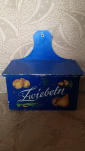 Kleiner Zwiebelkasten - Ostalgie