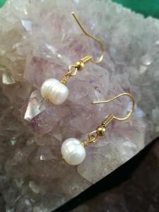 Ohrringe - Gold platiert