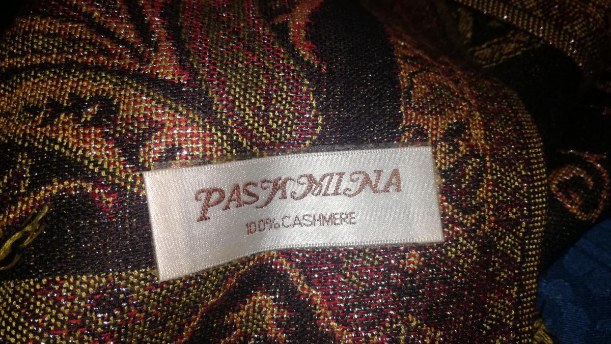 Schal von  Pashmina aus 100% Cashmere 1