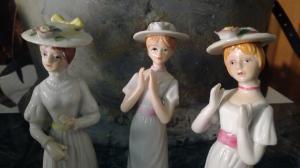 Vintage - Porzellan Three Ladies