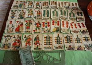 Tolles altes Kartenspiel der Firma ASS - Tarokkarte Nr. 145  Bayr. Einfachbild