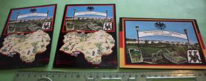 Drei tolle alte Karten - Truppenübungsplatz Baumholder - Lager Aulenbach