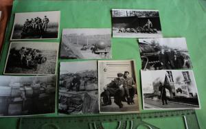 Neun tolle alte Fotos - Soldaten der NVA - Panzer - Technik
