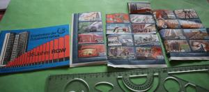 Tolles altes Sammelheft 35 Jahre RGW - DDR 1984 + Marken