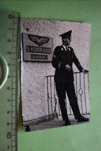Tolles altes Foto - Soldat der Luftwaffe  5. Komp. - Lw.Ausb.Regt. 1