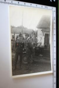Tolles altes Foto - zwei Soldaten DKiG Träger - Kubanbrückenkopf 1943