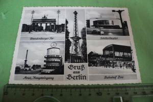 Tolle alte Karte -  Gruß aus Berlin - 1954