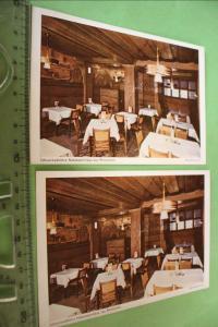 Zwei tolle alte Karten - Schwarzwälders Naturweinhaus zur Rheinpfalz - München