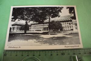 Tolle alte Karte - Oldenburg i. O. Regierungsgebäude  - 40er Jahre