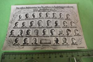 Tolles altes Foto - erste Absolventen - Banatia - Temeschburg - Rumänien 1940