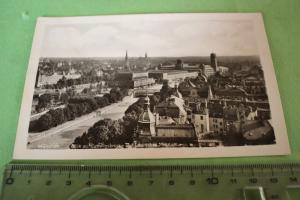 Tolle alte Karte - München Blick auf die Ludwigsbrücke und Deutsches Museum 1954
