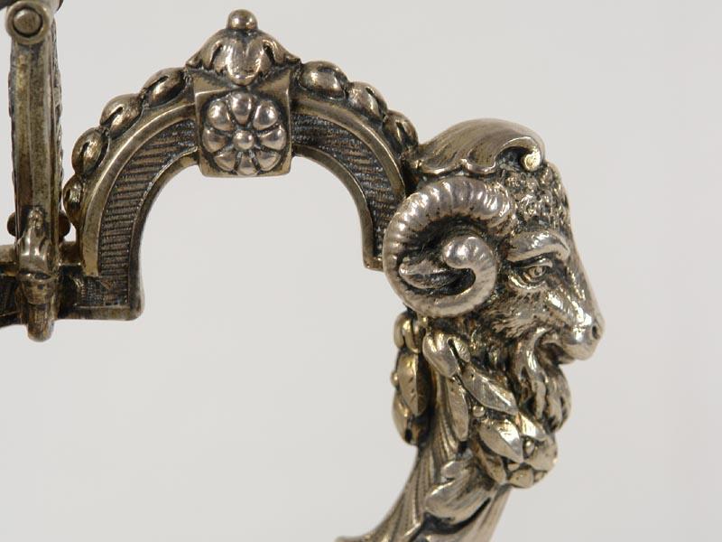 preisdeckelhumpen um 1886 800er silber innen vergoldet rundform auf ausgestellten fu. Black Bedroom Furniture Sets. Home Design Ideas