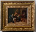 Antikes Gemälde, Flämisch um 1800 Restauriert.
