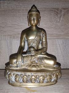 Antike bronzene Buddha Statue