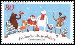 BRD - MiNr.: 3504 - Weihnachten mit Freuden - nassklebend - Postfrisch