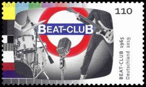 BRD - MiNr.: 3503 - Beat-Club - nassklebend - Postfrisch
