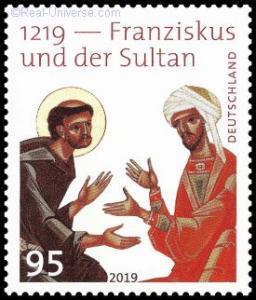 BRD - MiNr.: 3498 - Franziskus und der Sultan - nassklebend - Postfrisch