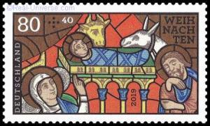 BRD - MiNr.: 3495 - Kirchenfenster - nassklebend - Postfrisch
