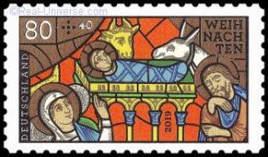 BRD - MiNr.: 3500 - Weihnachten - Kirchenfenster - selbstklebend - Postfrisch