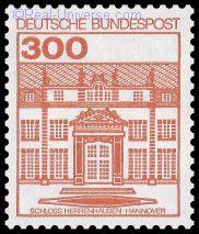 BRD - MiNr.: 1143 - Burgen und Schlösser - Schloss Herrenhausen - nassklebend - Postfrisch