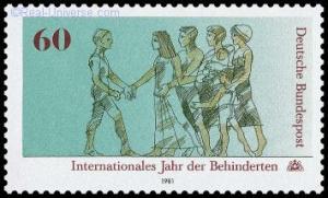 BRD - MiNr.: 1083 - Internationales Jahr der Behinderten - Postfrisch