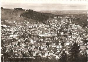 Ansichtskarte St. Gallen-Ost Bodensee, nicht gelaufen