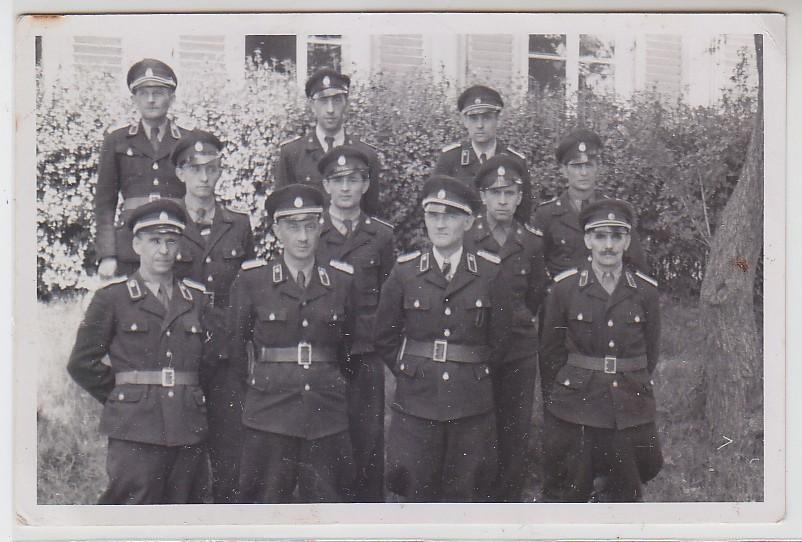 62828 seltenes Foto Kasernierte Volkspolizei der DDR 1950 Nr ...