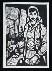 Willi Decker – Arbeiterin auf Baustelle