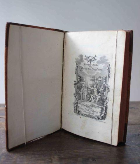 Hagedorn, Friedrich von: Poetische Werke. Tle. I - III (von 5) in 1 Bd