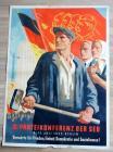 2. Parteikonferenz der SED. 9.-12.Juli 1952 . Berlin. Vorwärts für Frieden, Einheit, Demokratie und Sozialismus!