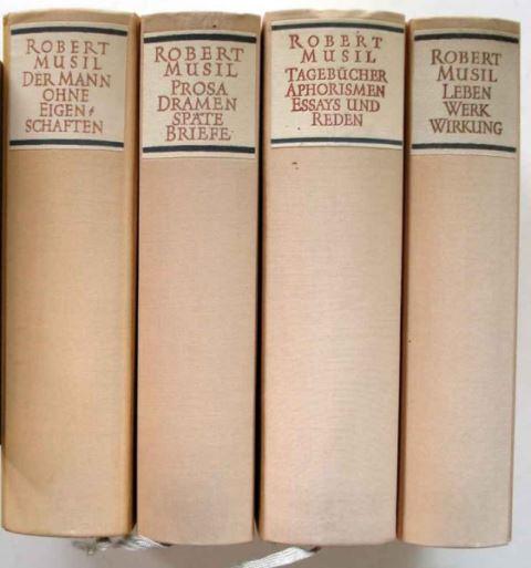 Frisé, Adolf (Hrsg.): Robert Musil. Gesammelte Werke in Einzelausgaben.