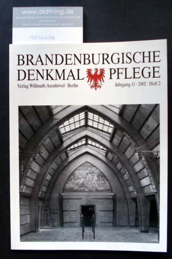 Brandenburgische Denkmalpflege. Jahrgang 11, Heft 2 / 2002.