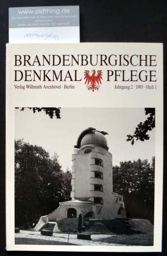 Brandenburgische Denkmalpflege. Jahrgang 2, Heft 1 / 1993. 0