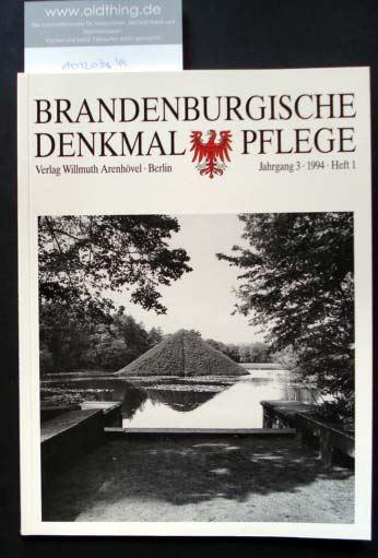 Brandenburgische Denkmalpflege. Jahrgang 3, Heft 1 / 1994.
