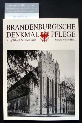 Brandenburgische Denkmalpflege. Jahrgang 3, Heft 2 / 1994.