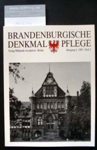 Brandenburgische Denkmalpflege. Jahrgang 4, Heft 2 / 1995.
