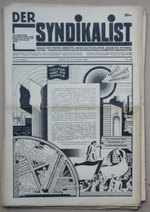 Syndikalismus: Der Syndikalist. Sammlung von 12 Nummern vom 10.Jahrgang 1928.