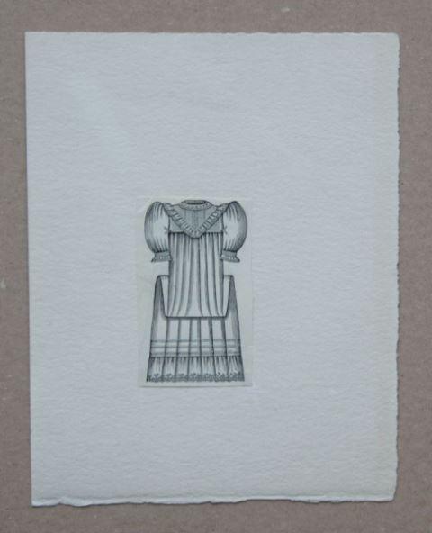 Max Ernst: Kleine nicht signierte und betitelte Originalgrafik.