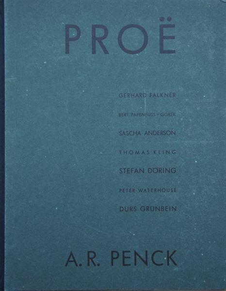 Penck, A.R.: Proë.