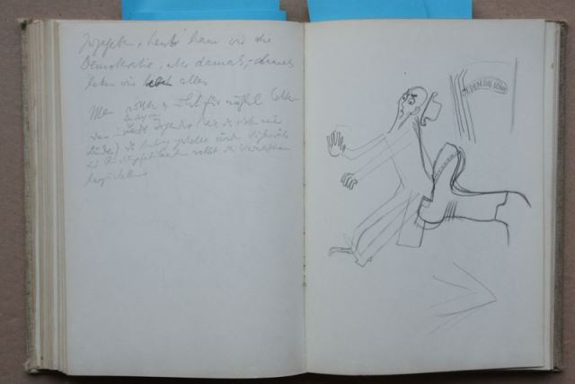 Zwei Skizzenbücher von Herbert Sandberg mit über 400 original Bleistiftskizzen 3