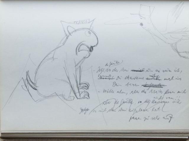 Zwei Skizzenbücher von Herbert Sandberg mit über 400 original Bleistiftskizzen 7