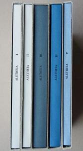 Barck Maximilian, Rost Andreas, Sihler Achim, Tschernay Rainer (Hrsg.): Aletheia. Band 1 bis Band 5.