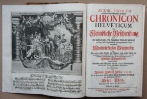 Tschudi, Aegidius: Chronicon Helveticum.