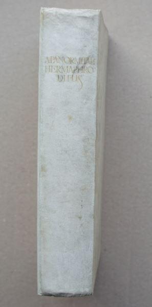 Panormitae, Antonii (d.i.A.Beccatelli). Hermaphroditus.
