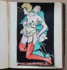 Erotika | Unikat: Skizzenbuch mit 98 handgemalten erotisch/pornographischen Bildern von Cavon (d.i. Bernhard Nowak)