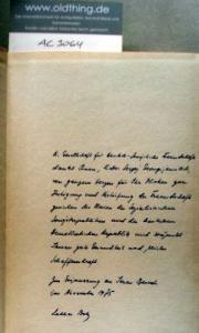 Gorski Günter, Anderle Alfred und Rosenfeld Günter (Hrsg.): Deutsch-sowjetische Freundschaft. Ein historischer Abriß von 1917 bis zur Gegenwart. [Exemplar mit Widmung von hochrangigen Politiker].