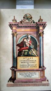 Mercator, Gerardus: Atlas Sive Cosmographicae Meditationes de Fabrica Mundi et Fabricati Figura.