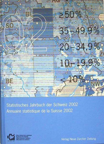 Bundesamt für Statistik: Statistisches Jahrbuch der Schweiz 2002 - Annuaire statistique de la Suisse 2002.