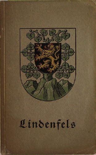 Lindenfels. Führer mit Karte. Herausgegeben von dem Verschönerungs- und Verkehrsverein.